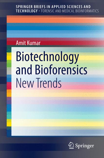 Cover of 'Biotechnology and Bioforensics'