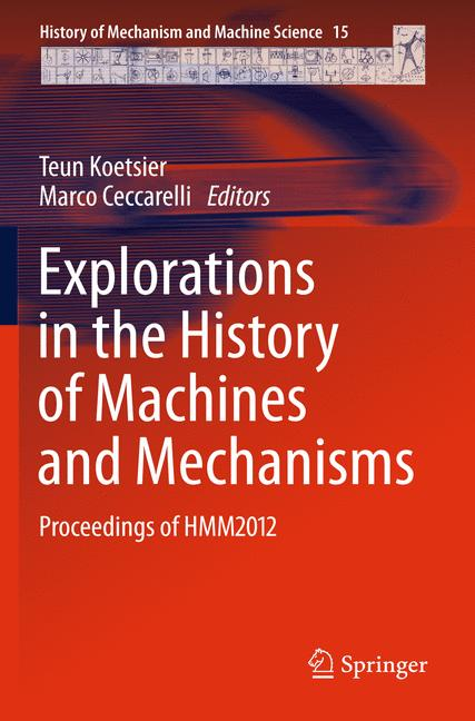 Cover of 'Explorations in the History of Machines and Mechanisms'
