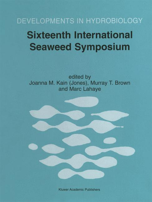 Cover of 'Sixteenth International Seaweed Symposium'