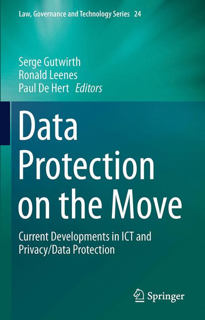 Cover of 'Data Protection on the Move'