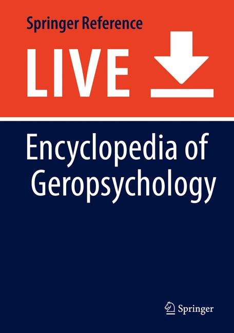 Cover of 'Encyclopedia of Geropsychology'