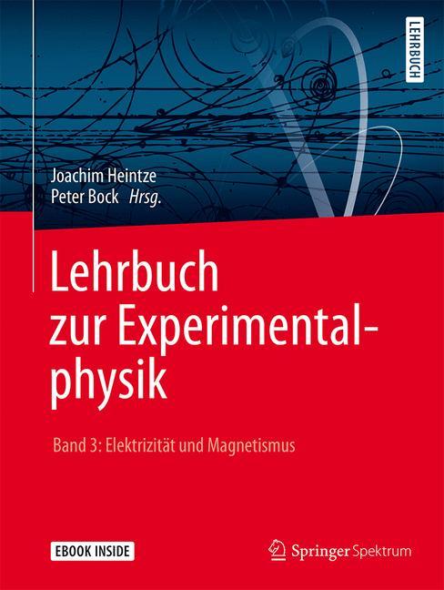 Cover of 'Lehrbuch zur Experimentalphysik Band 3: Elektrizität und Magnetismus'