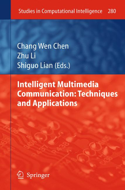 Cover of 'Intelligent Multimedia Communication: Techniques and Applications'