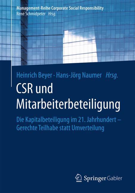 Cover of 'CSR und Mitarbeiterbeteiligung'