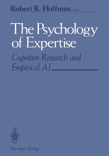 Cover of 'The Psychology of Expertise'