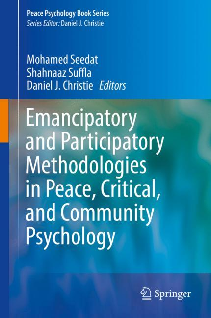 Cover of 'Emancipatory and Participatory Methodologies in Peace, Critical, and Community Psychology'