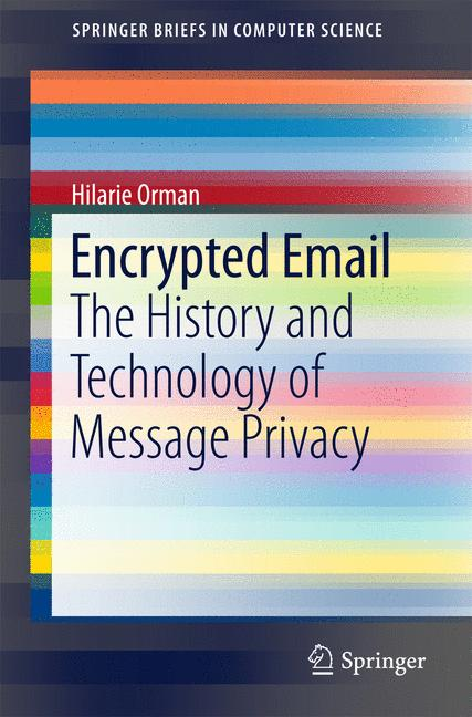 Cover of 'Encrypted Email'