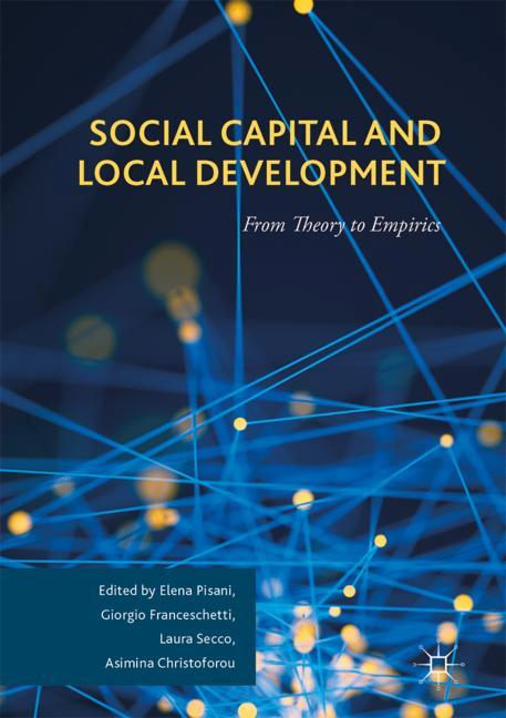 Cover of 'Social Capital and Local Development'
