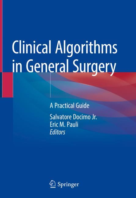 Cover of 'Clinical Algorithms in General Surgery'