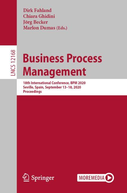 Cover of 'Business Process Management'