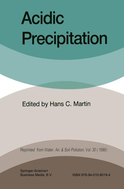 Cover of 'Acidic Precipitation'