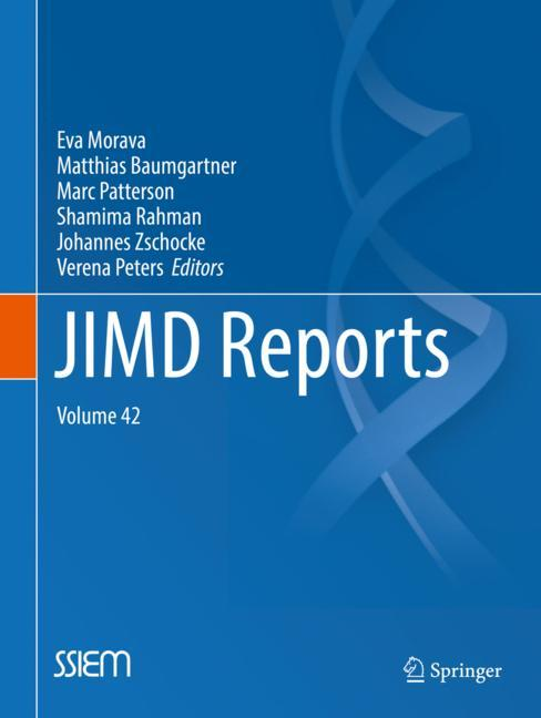 Cover of 'JIMD Reports, Volume 42'