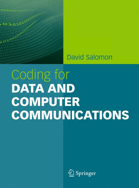 Cover of 'Coding for Data and Computer Communications'
