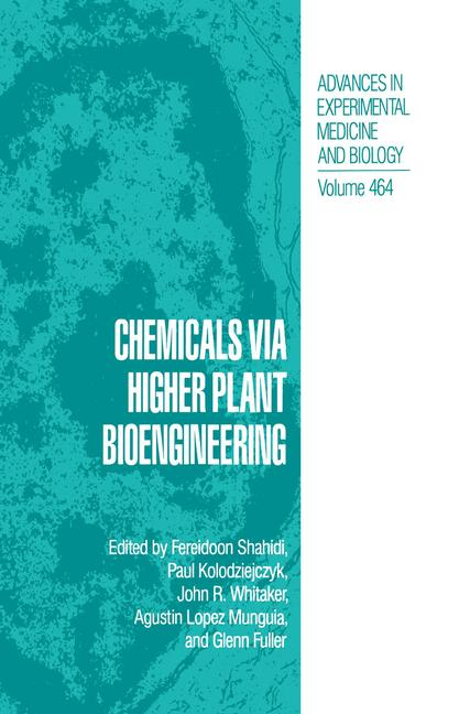 Cover of 'Chemicals via Higher Plant Bioengineering'