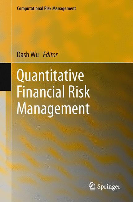 Cover of 'Quantitative Financial Risk Management'