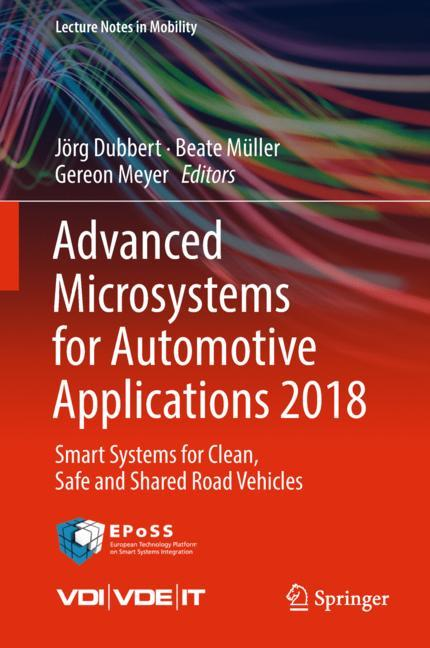 Cover of 'Advanced Microsystems for Automotive Applications 2018'