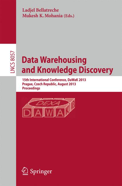 Cover of 'Data Warehousing and Knowledge Discovery'