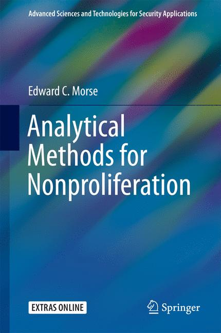 Cover of 'Analytical Methods for Nonproliferation'