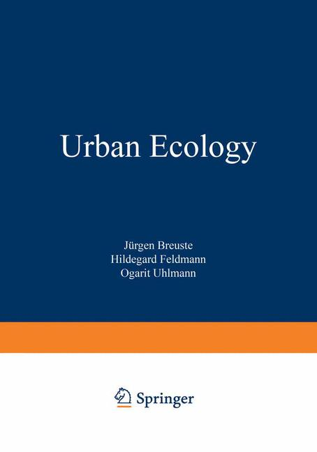 Cover of 'Urban Ecology'