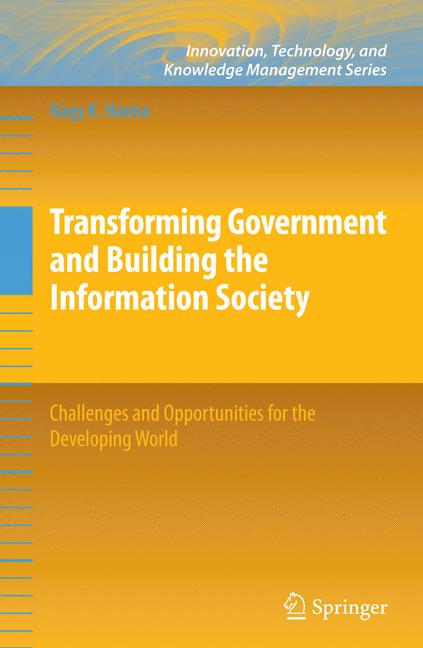 Cover of 'Transforming Government and Building the Information Society'