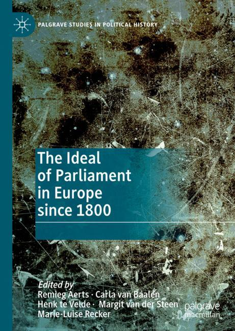 Cover of 'The Ideal of Parliament in Europe since 1800'
