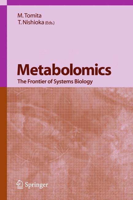 Cover of 'Metabolomics'