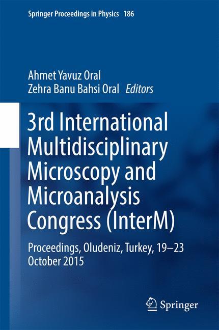 Cover of '3rd International Multidisciplinary Microscopy and Microanalysis Congress (InterM)'