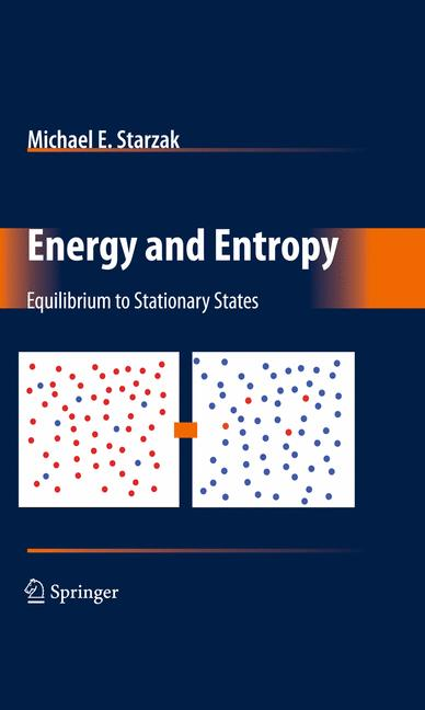 Cover of 'Energy and Entropy'