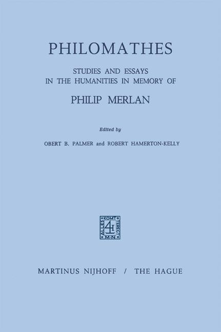 Cover of 'Philomathes'