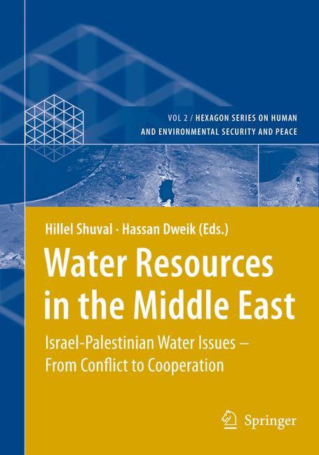 Cover of 'Water Resources in the Middle East'
