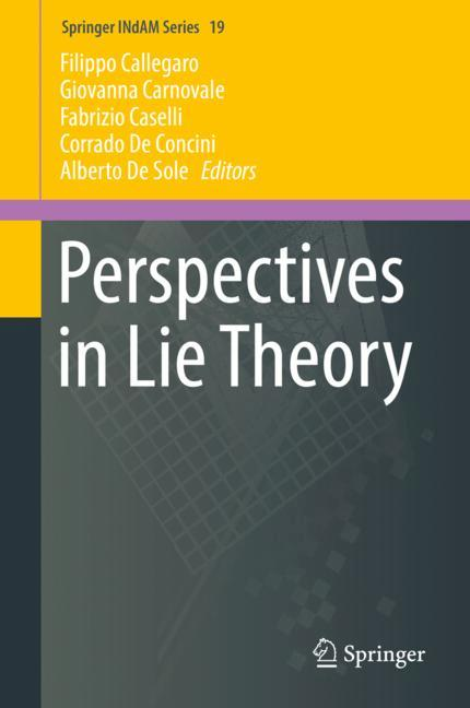 Cover of 'Perspectives in Lie Theory'