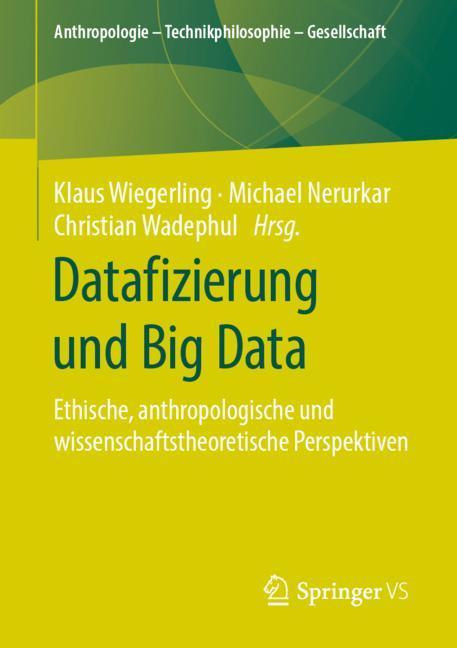Cover of 'Datafizierung und Big Data'