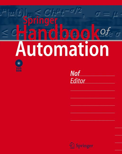 Cover of 'Springer Handbook of Automation'