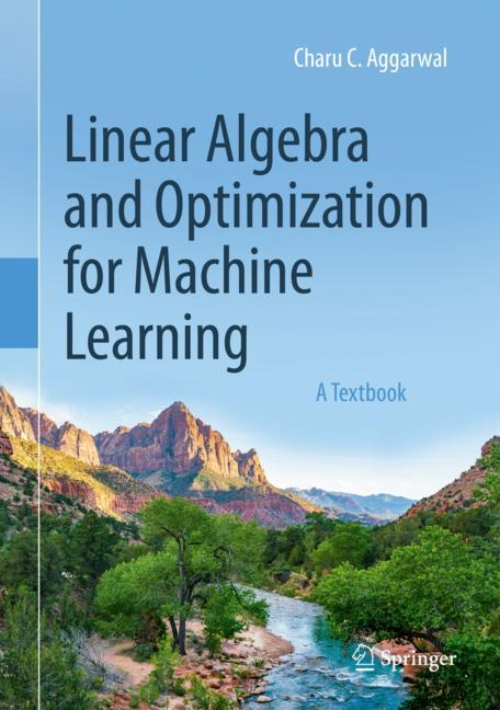 Cover of 'Linear Algebra and Optimization for Machine Learning'