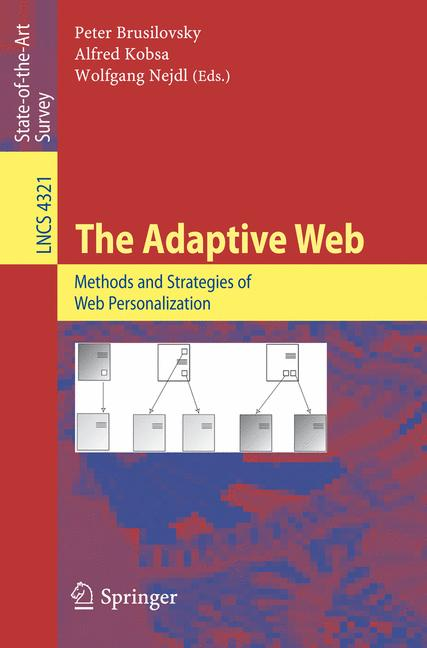 Cover of 'The Adaptive Web'