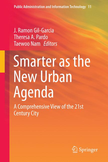 Cover of 'Smarter as the New Urban Agenda'