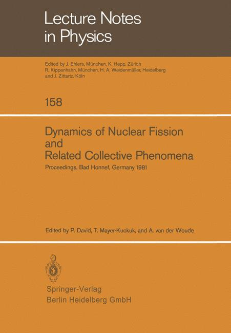 Cover of 'Dynamics of Nuclear Fission and Related Collective Phenomena'