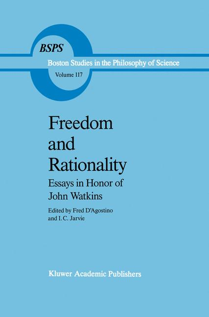 Cover of 'Freedom and Rationality'