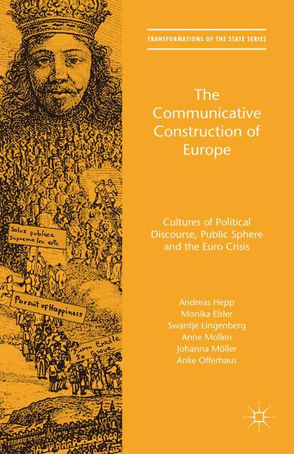 Cover of 'The Communicative Construction of Europe'