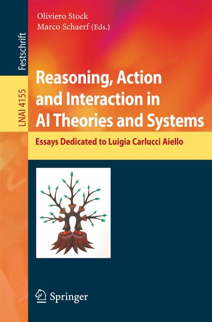 Cover of 'Reasoning, Action and Interaction in AI Theories and Systems'