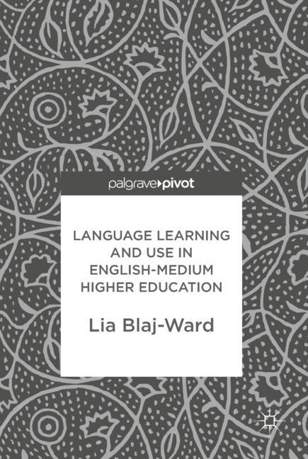 Cover of 'Language Learning and Use in English-Medium Higher Education'