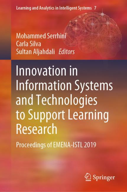 Cover of 'Innovation in Information Systems and Technologies to Support Learning Research'