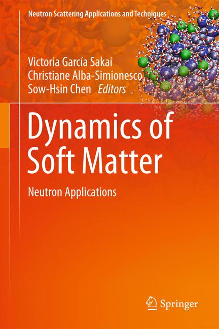 Cover of 'Dynamics of Soft Matter'