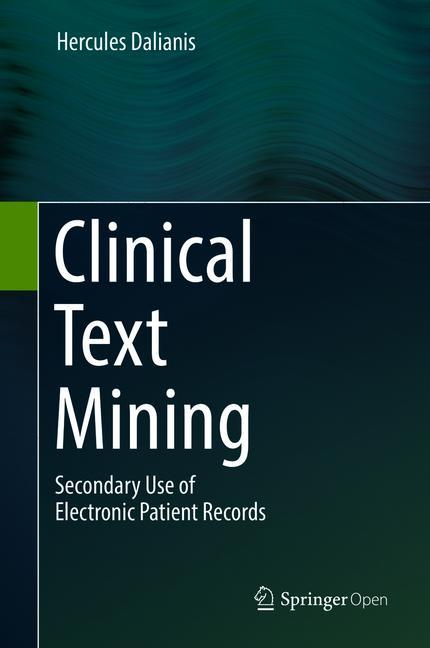Cover of 'Clinical Text Mining'