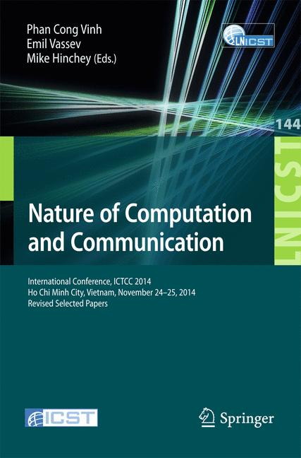 Cover of 'Nature of Computation and Communication'
