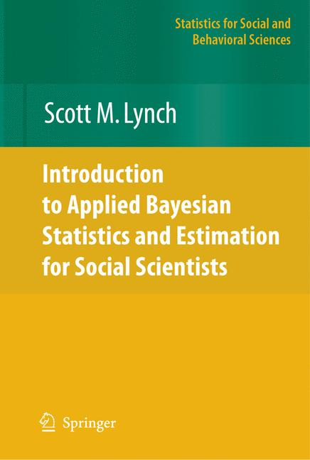 Cover of 'Introduction to Applied Bayesian Statistics and Estimation for Social Scientists'