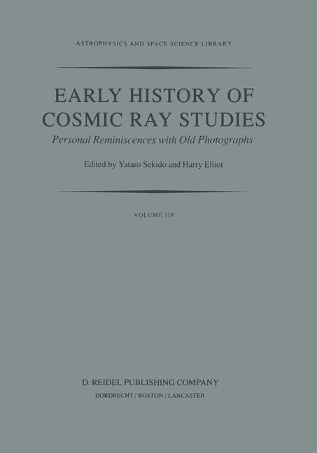 Cover of 'Early History of Cosmic Ray Studies'
