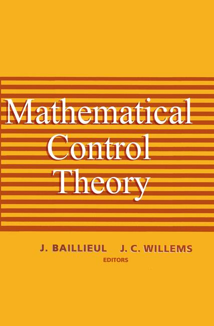 Cover of 'Mathematical Control Theory'