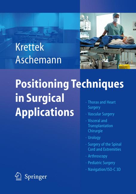 Cover of 'Positioning Techniques in Surgical Applications'