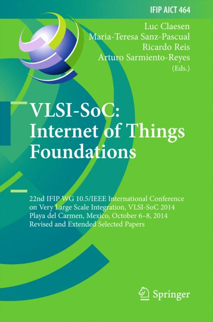 Cover of 'VLSI-SoC: Internet of Things Foundations'